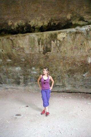 Rock Climbing in Dripping Springs, TX.
